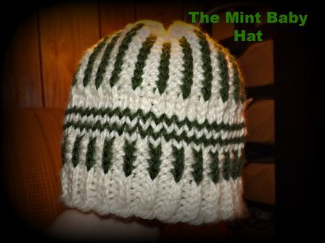 The Mint Baby Hat Pattern (Free) by Virginia Galligan of Simply Intertwined