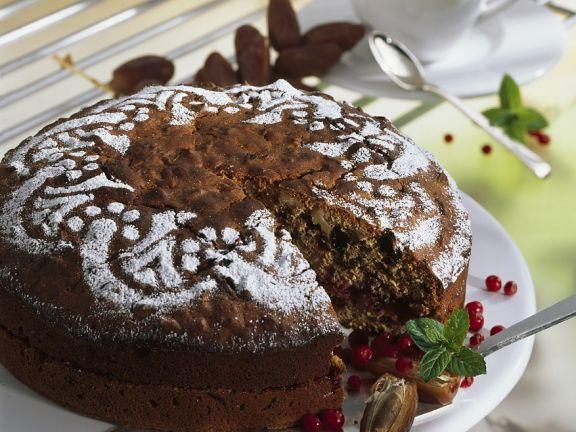 Nusskuchen mit Trockenfrüchten ist ein Rezept mit frischen Zutaten aus der Kategorie Obstkuchen. Probieren Sie dieses und weitere Rezepte von EAT SMARTER!