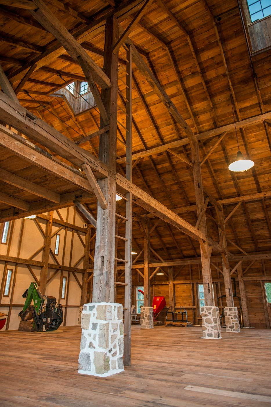The Newtown Barn Heritage Restorations Bank Barn Timber Frame Barn Barn