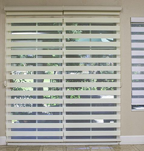 Premium Combi Shade For French And Sliding Glass Door Zebra Dual