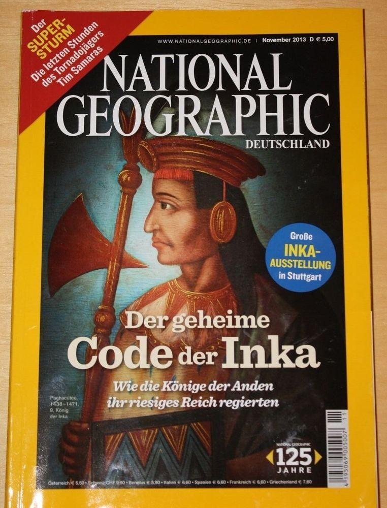 National Geographic Deutschland Zeitschrift November 2013