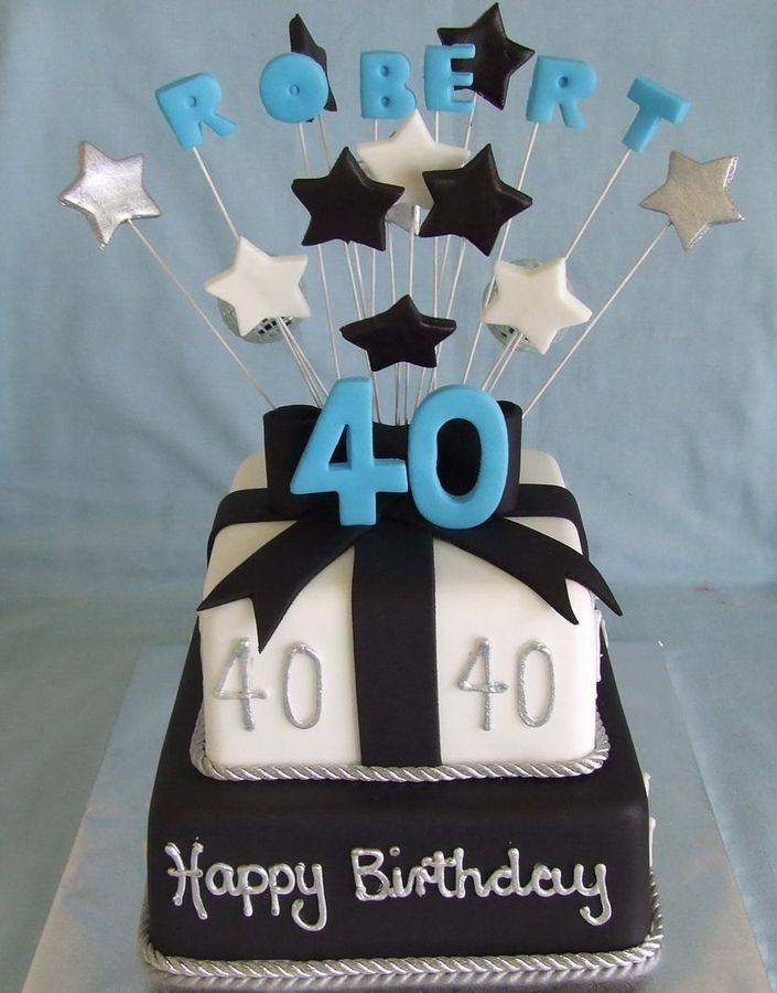 Birthday Cakes Good Designs Cake For Mens Male 40th