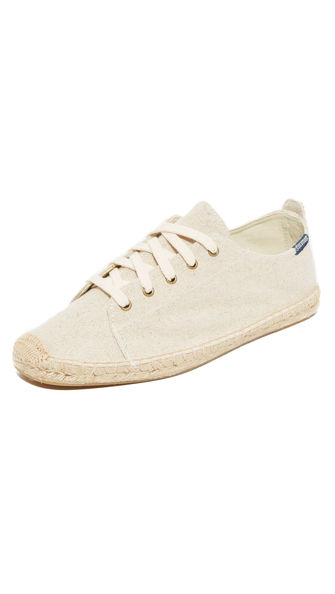 0a2e4bd69a945 SOLUDOS Canvas Lace Up Sneakers. #soludos #shoes #sneakers   Soludos ...