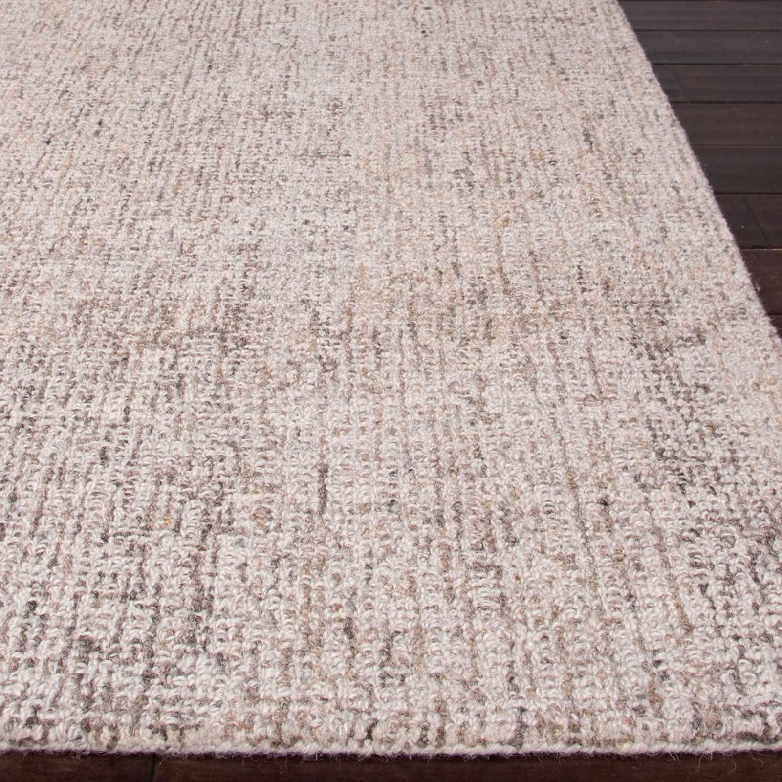 Solid Looped Texture Rug Light_gray_steeple_gray