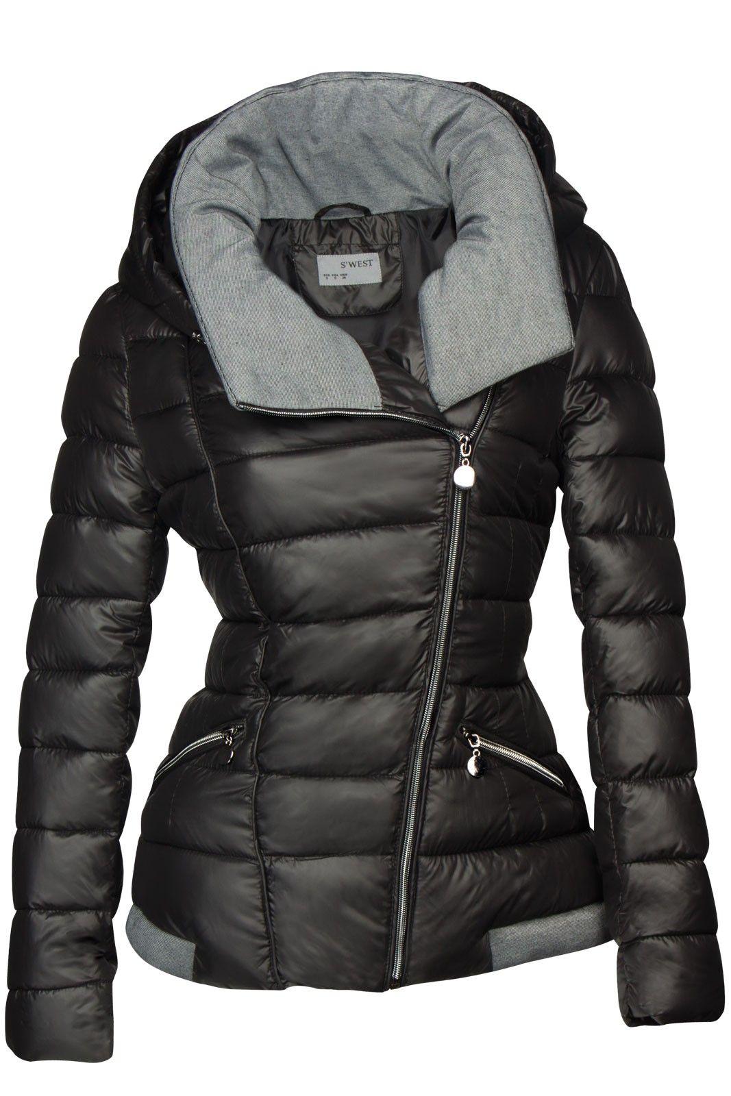 beste Qualität für Modestil von 2019 Online-Einzelhändler Damen Winterjacke Warme Steppjacke Skijacke Daunenoptik ...