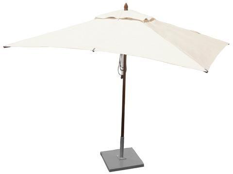 Greencorner 10 X 6 5 Rectangle Mahogany Patio Umbrella