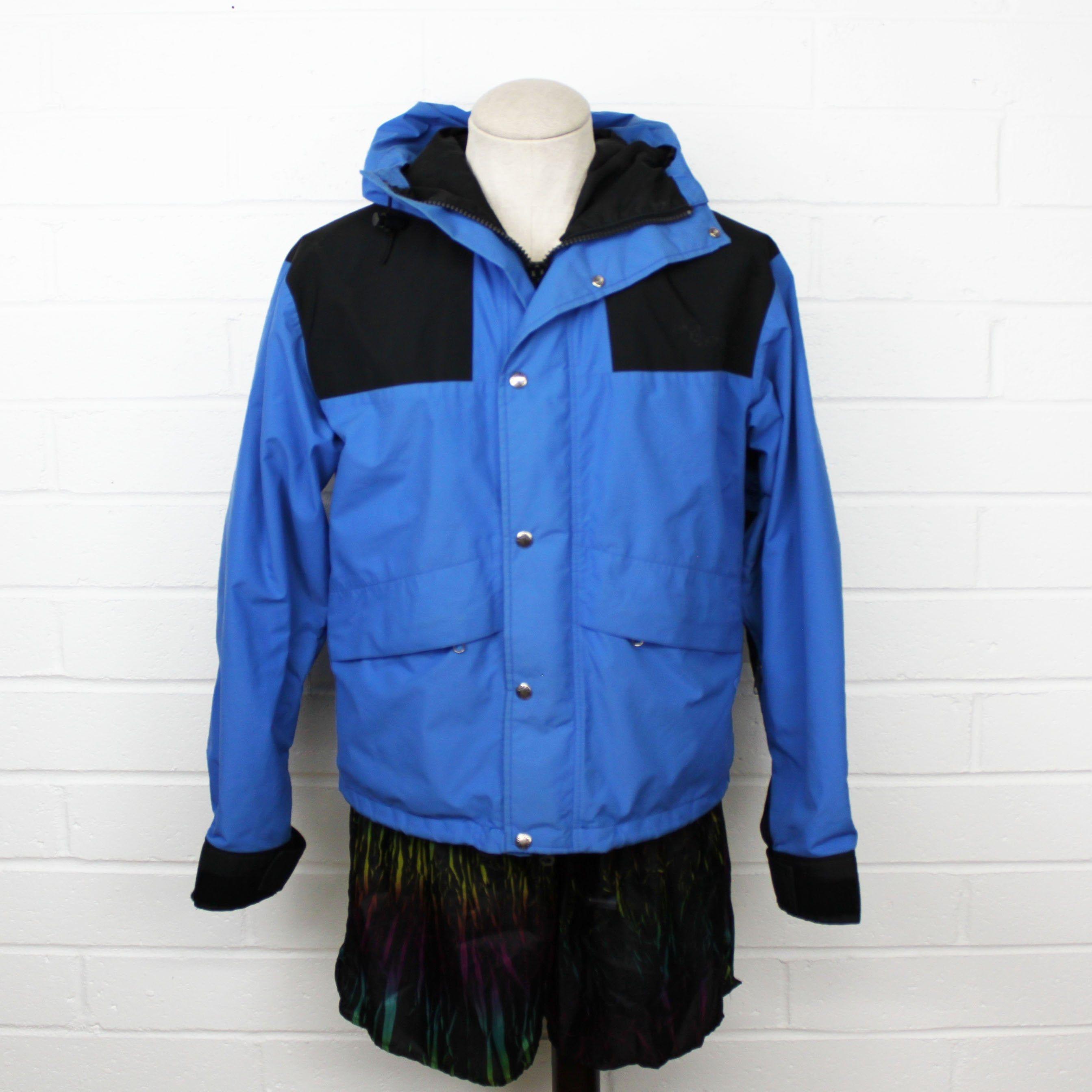 Vintage 80s The North Face Jacket Medium Blue Gore Tex Zip Up Etsy North Face Jacket Jackets Vintage Jacket [ 2686 x 2686 Pixel ]