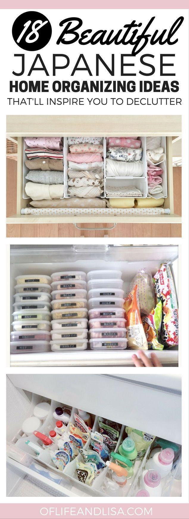 Home organization ideas from Japan. | {home} | Pinterest | Storage ...