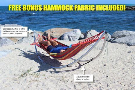 Folding Beach Hammock Portable Travel