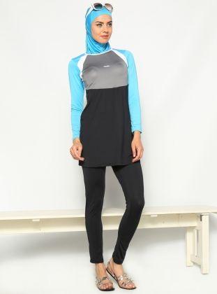 Forseglet Borgmester , Navy Blå , Marina Mayo Islamic Clothing, Classy  Outfits, Hijab Fashion