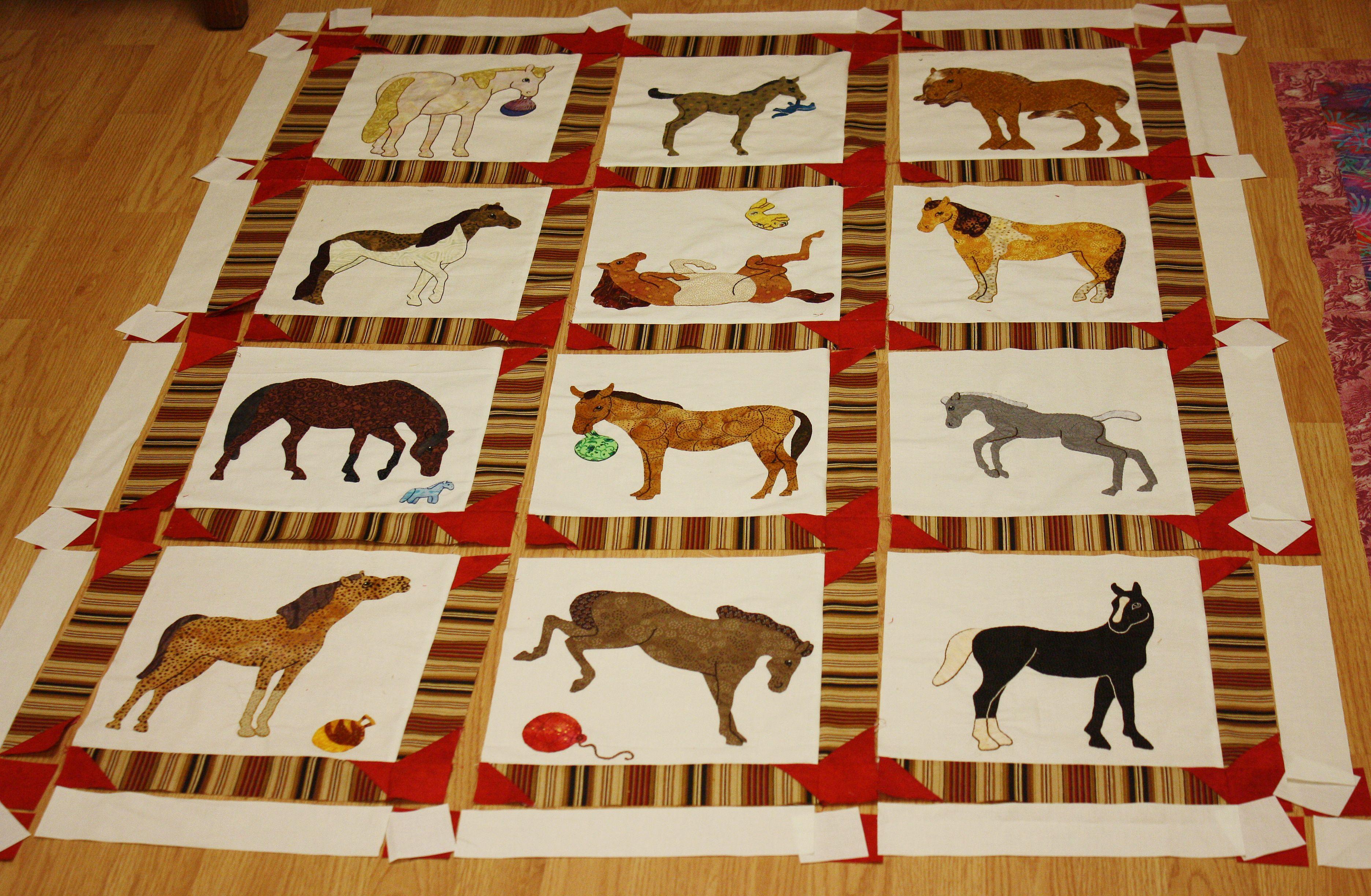 The Last Horse Quilt | DIY und Selbermachen und Selbermachen