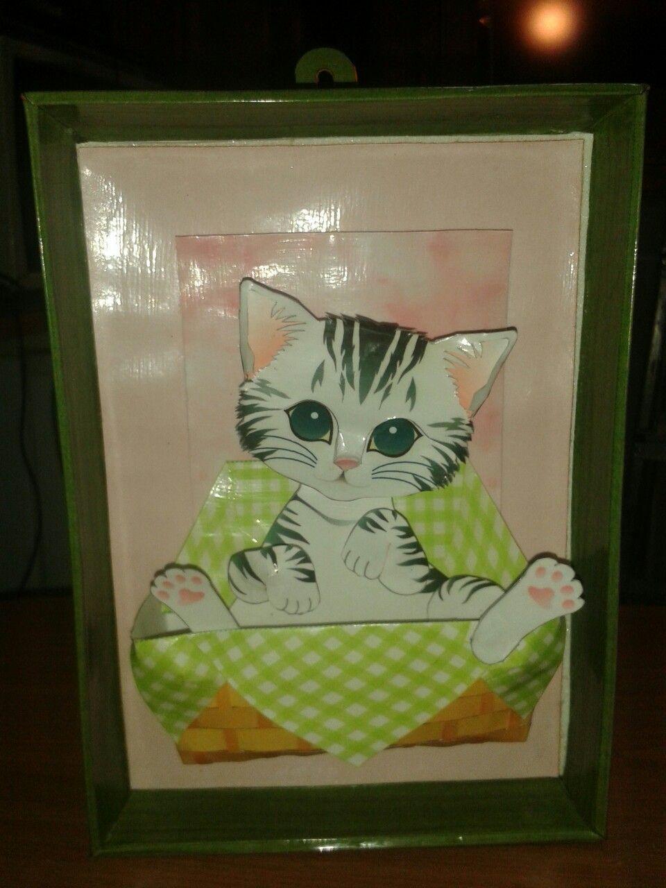 Asombroso Arte De Uñas Gatito Composición - Ideas Para Esmaltes ...