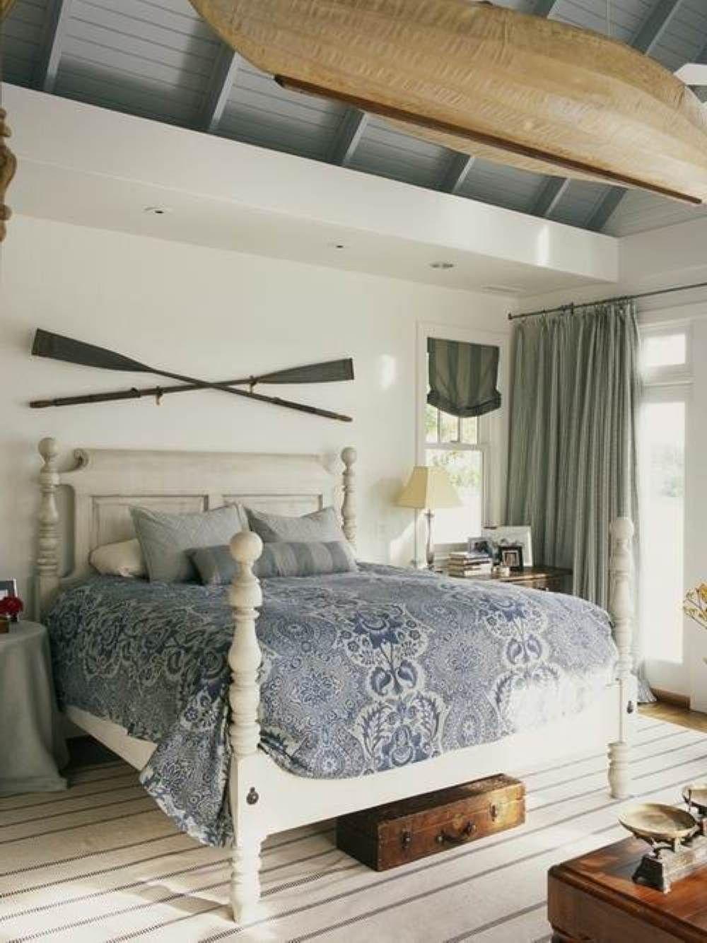 60 Rustic Coastal Master Bedroom Ideas   Coastal master ...