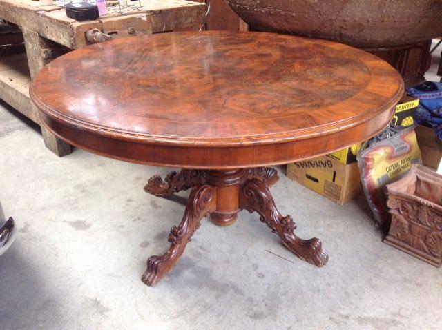 Tavolo rotondo vecchia cerea niente di nuovo usato antichit e vintage a brescia e anche - Tavolo cristallo rettangolare usato ...