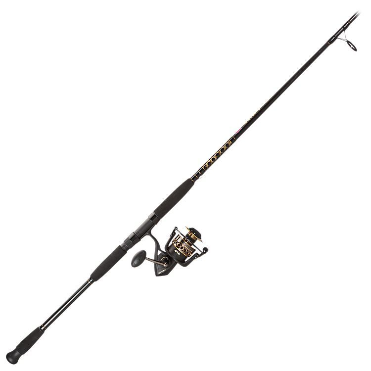6cf75246a3443 PENN Battle II Surf Rod and Reel Spinning Combo   Bass Pro Shops: The Best  Hunting, Fishing, Camping & Outdoor Gear