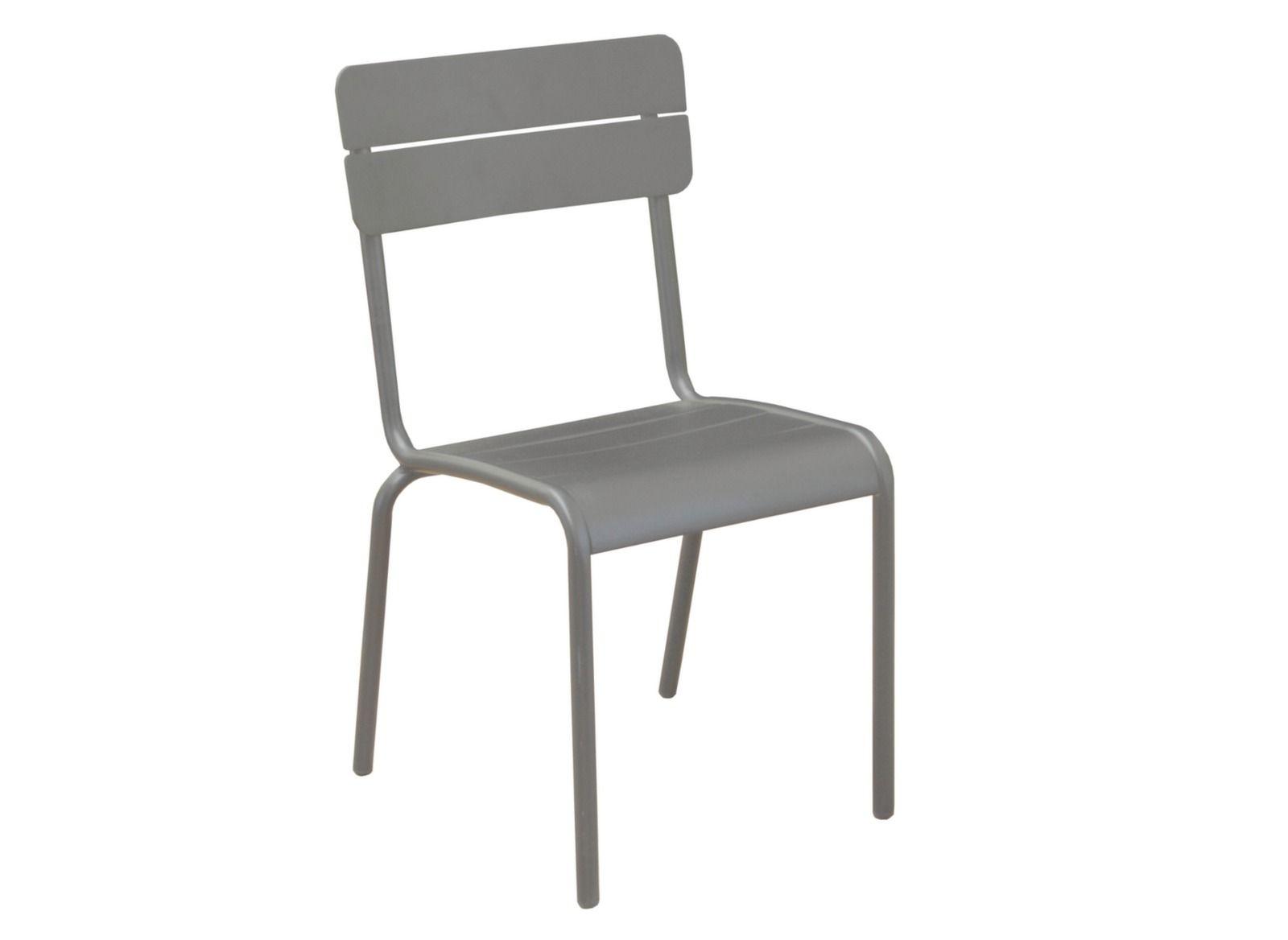 Chaise de salon de jardin aluminium Ecole - Proloisirs | terrace ...