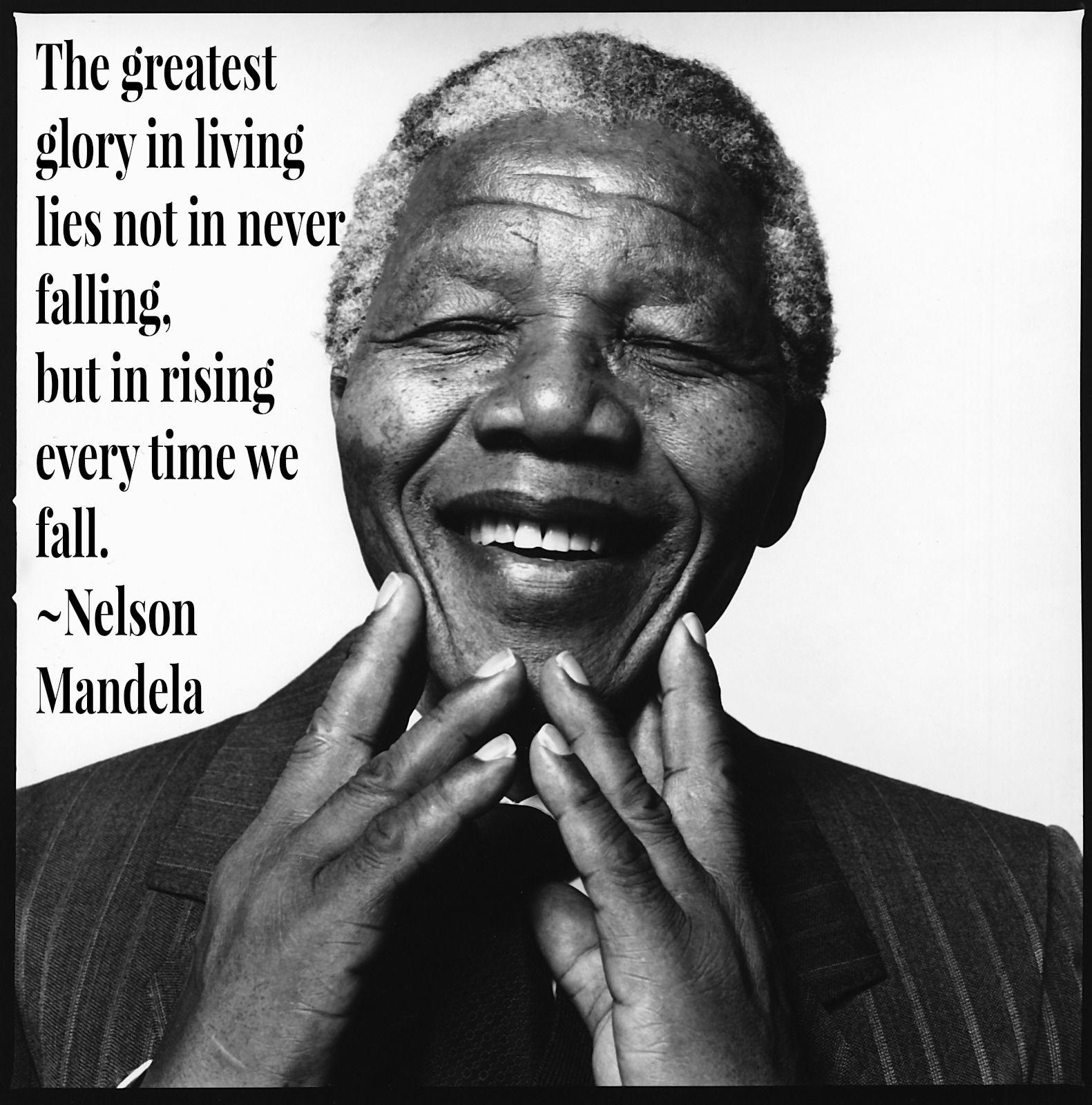 Inspiring Nelson Mandela