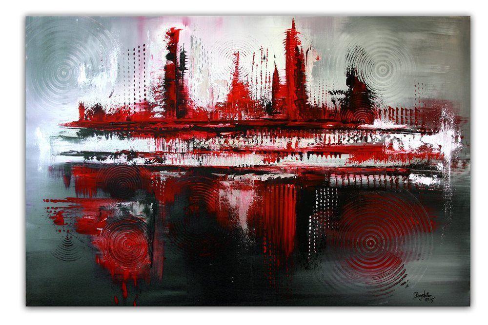 BURGSTALLER ORIGINAL XXL Gemälde Leinwand Bilder Abstrakt Malerei ...