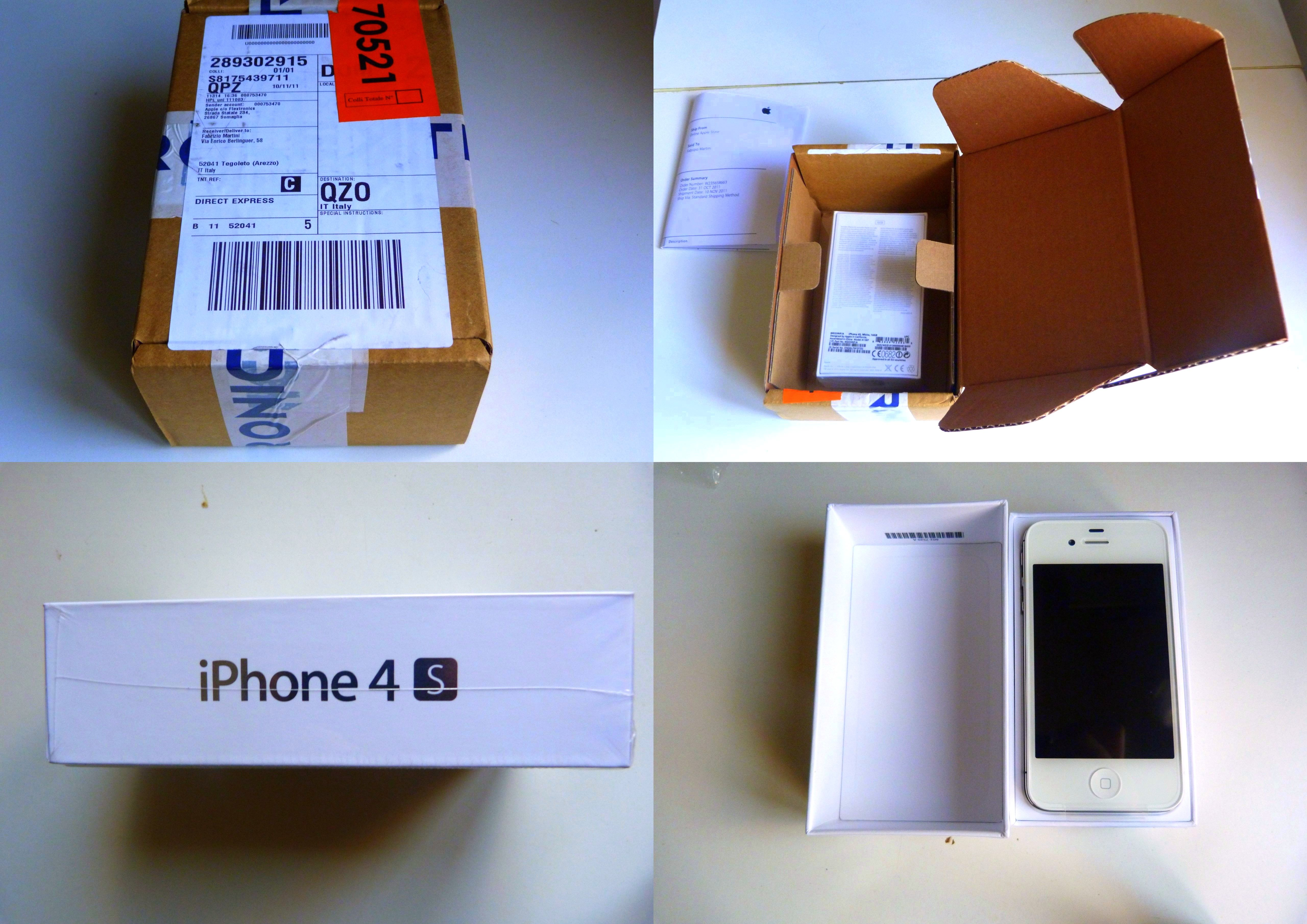 iPhone 4S UNBOXING | It's me: strengths and weaknesses