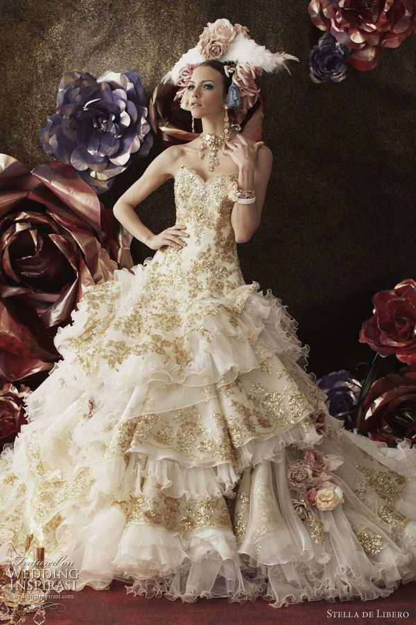 Stella de Libero Wedding Dresses | Fashion & Style | Pinterest ...