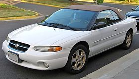 Alex Cahill Drove A Chrysler Sebring Convertible On Walker Us