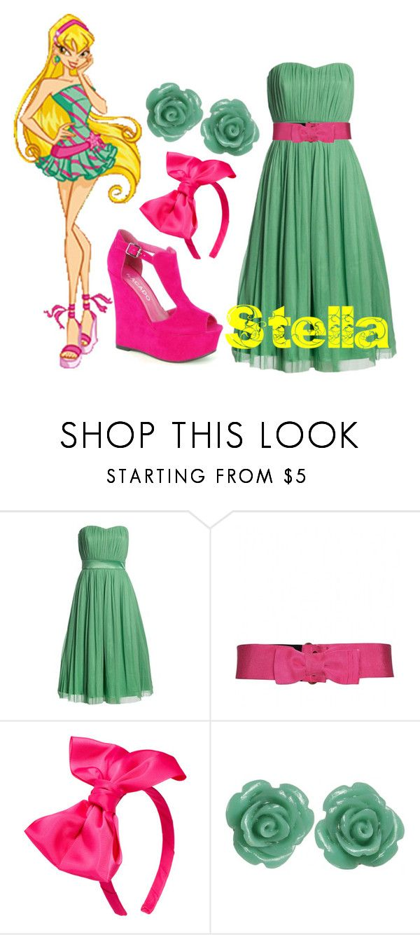 """""""Stella-Winx Club"""" by blue-rasberry ❤ liked on Polyvore featuring Lanvin and Johnny Loves Rosie"""