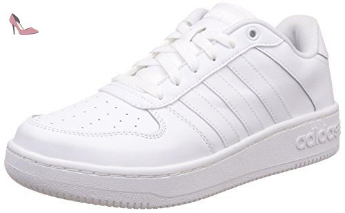 adidas Team Court, Sneakers Basses Homme, Negro (Negbas/Negbas/Negbas), 40