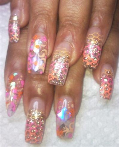 Snakeskin by Ramalard - Nail Art Gallery nailartgallery.nailsmag.com by Nails Magazine www.nailsmag.com #nailart