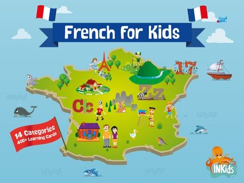 Learn French for Kids Android and Ipad best app with