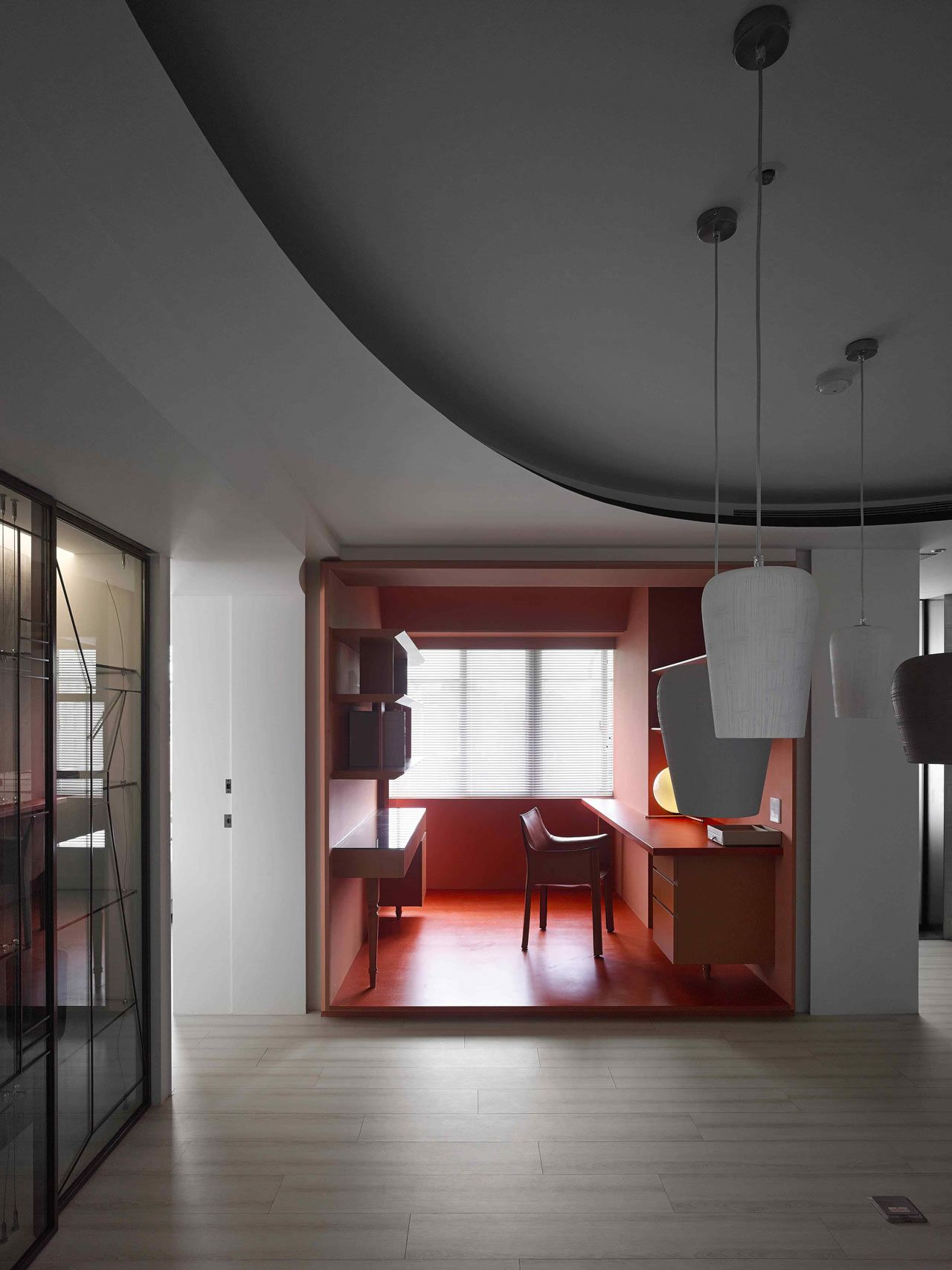 For the young homeowner a french educated fashion designer waterfrom design created a colorful sophisticated apartment inspired by paper sewing patterns