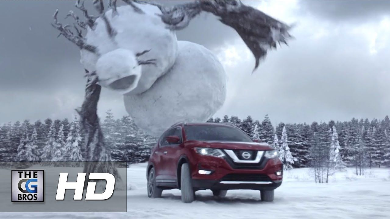 "CGI 3D/VFX Spot: ""Return Of The Snowmen"" - by TheEmbassyVFX #бег #монстр"