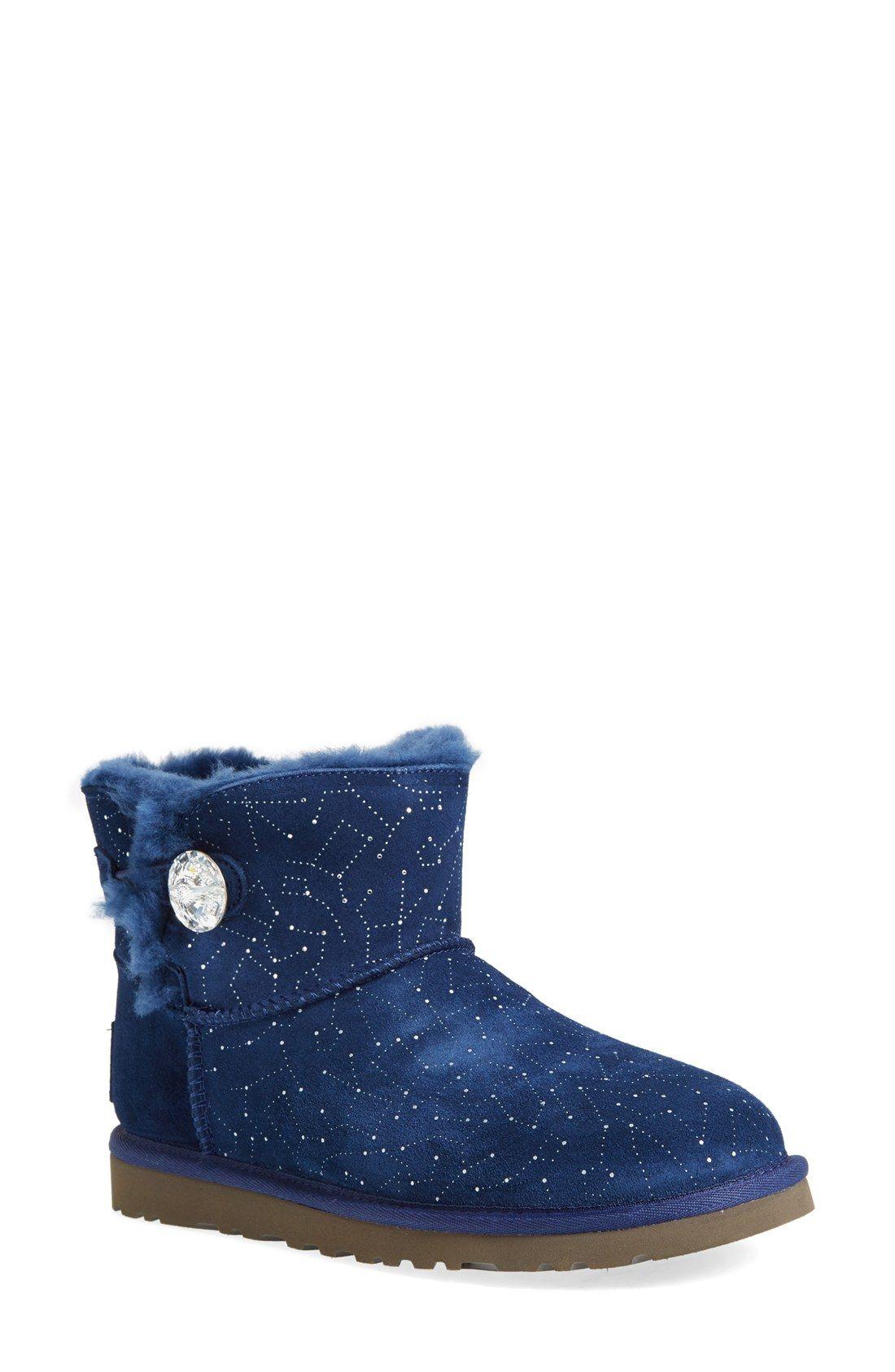 205ee9c95fe UGG® Australia 'Mini Bailey Button - Bling Constellation' Boot ...