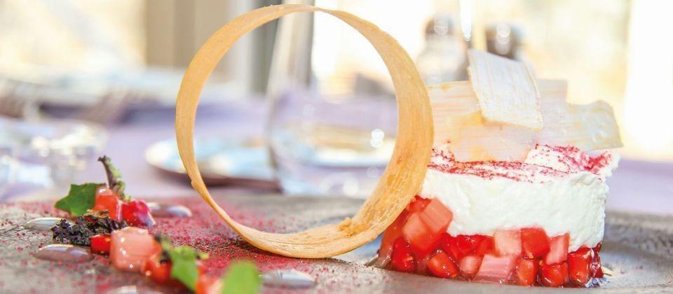 Rhabarber-Erdbeeren und Mascarpone - Lust auf Italien - Reise und GenussLust auf Italien – Reise und Genuss