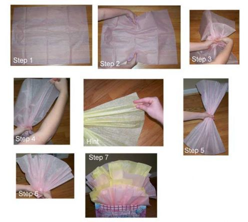 How to Place Tissue Paper in a Gift Bag and Make It Look Good ...