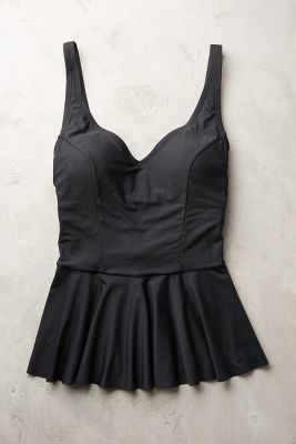 71dff7683785d Anthropologie Mix-and-Match Peplum Tankini | Room for more ...