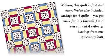 project linus quilt patterns   Quiltmaker Magazine   Project Linus ... : project linus quilt patterns - Adamdwight.com