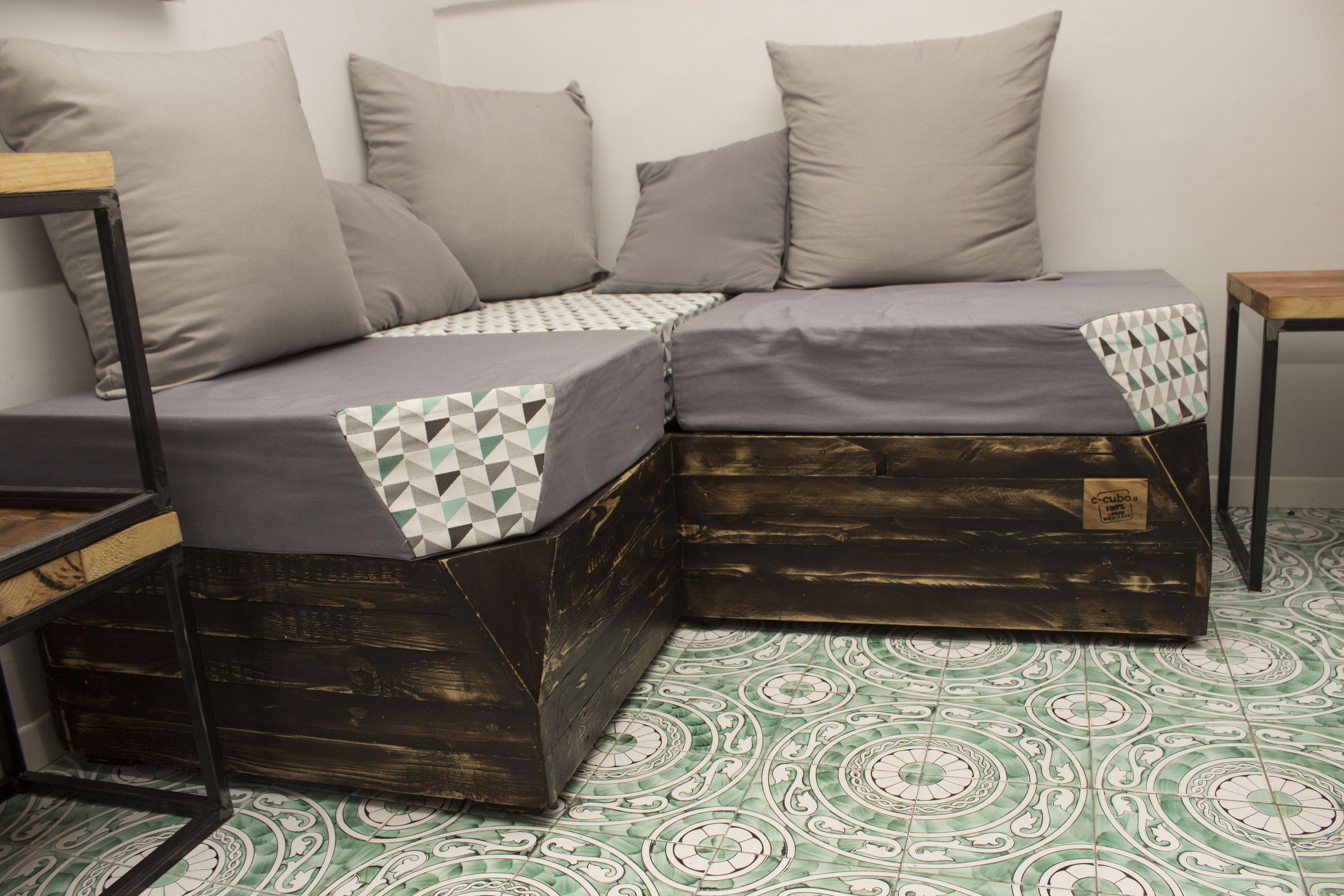Rifoderare divano ~ Divano realizzato con legno di recupero divano