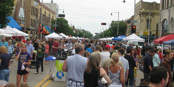 Highlights from the First Downtown Appleton Farm Market