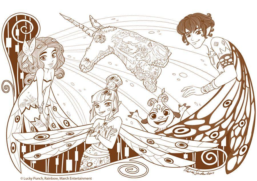 Mia and Me_book_01_Scuderi by Skudo on deviantART