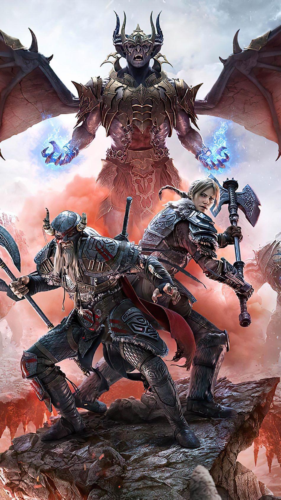 The Elder Scrolls Online Greymoor Poster 4k Ultra Hd Mobile Wallpaper Elder Scrolls Elder Scrolls Skyrim Elder Scrolls Art