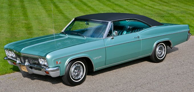 1966 Chevy Impala SS Hardtop  Chevys  Pinterest  Chevy impala