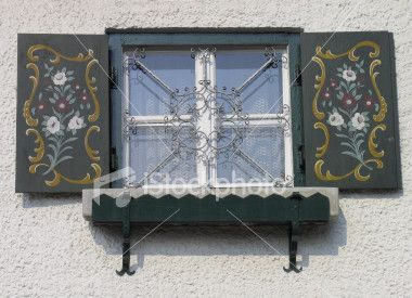 Fioriere Per Persiane ~ Bavarian window #window windows & doors
