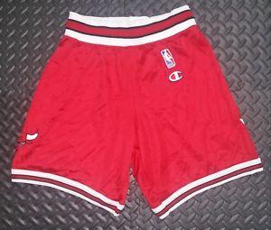 55f922054 Vintage Champion Chicago BULLS Shorts YOUTH XL Jordan Mesh NBA ...