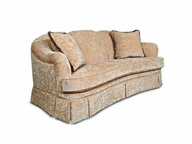 Curved seat England sofa Call us for Pricing and Availability 706-734-7304