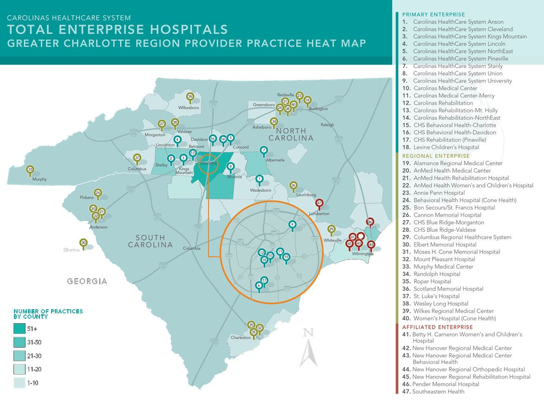 Carolinas HealthCare System Locations | Healthcare system ...