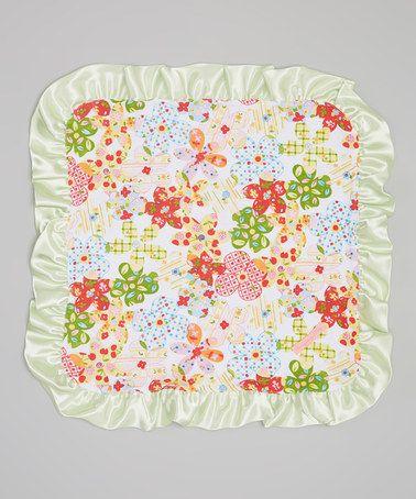 Another great find on #zulily! 26'' x 40'' Summer Time Binky Stroller Blanket #zulilyfinds