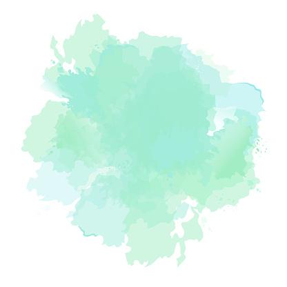 Emerald Green Mint Dusty Blue Sage Watercolor Vector Splash Watercolor Splash Png Watercolour Texture Background Watercolor Splash