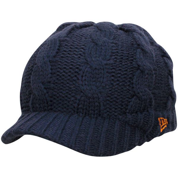 Chicago Bears New Era Women s Arctic Blast Cable Cadet Beanie - Navy ... a77a59cd0