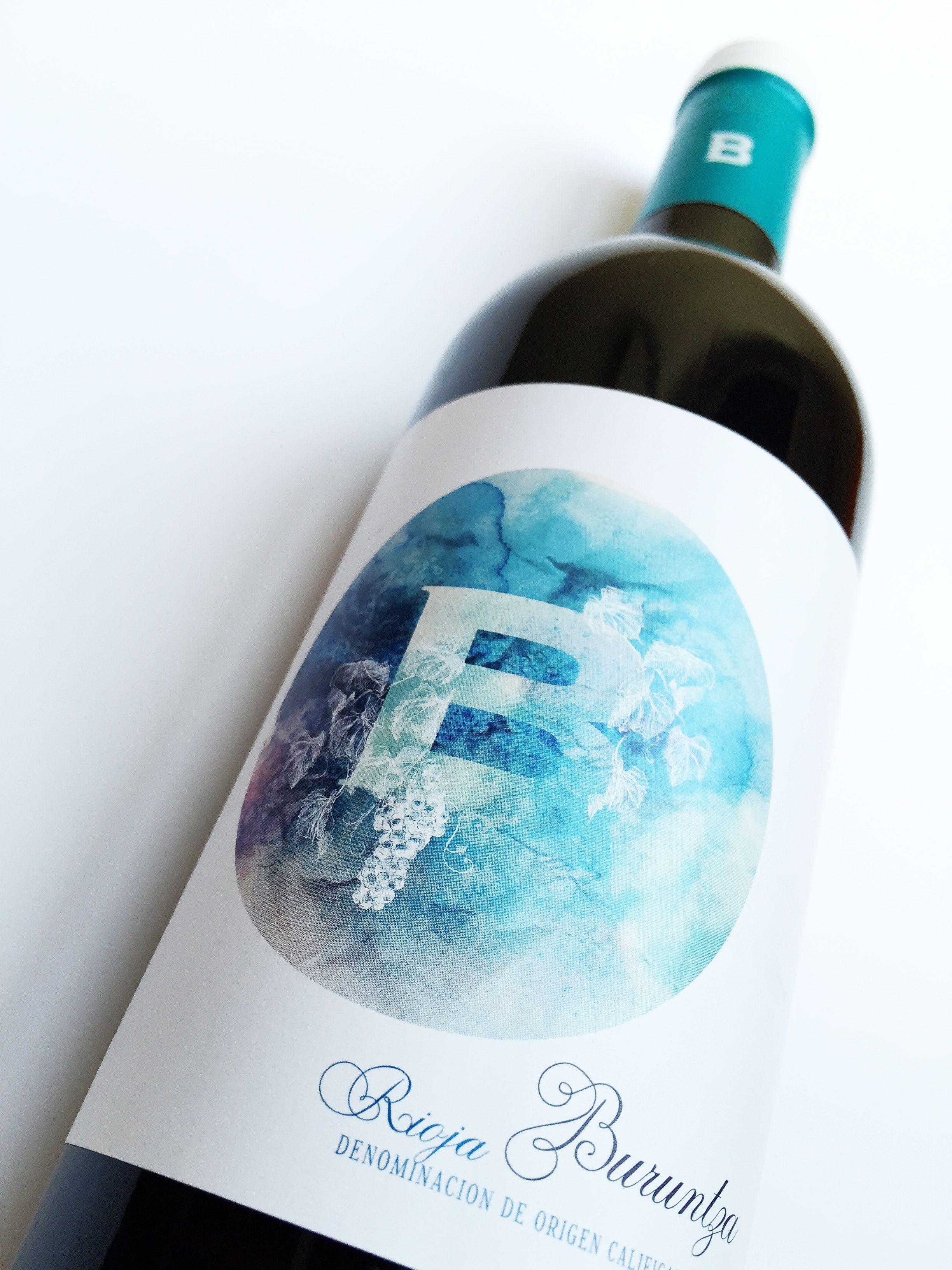 B de Buruntza. Azul de generosidad, frescor,  tranquilidad, verdad y eternidad.