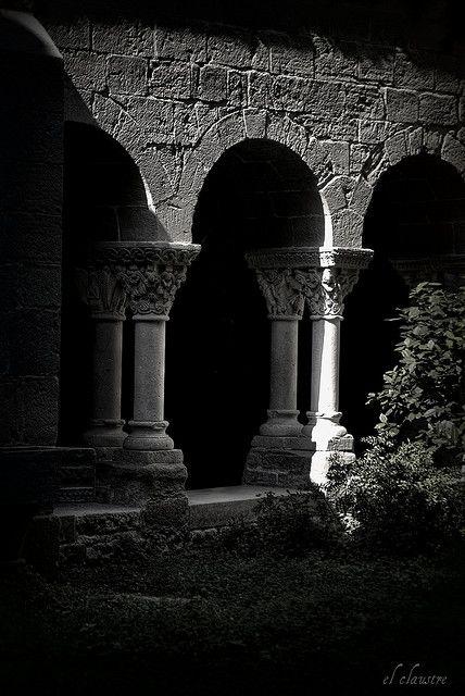 claustre de Sant Benet de Bages